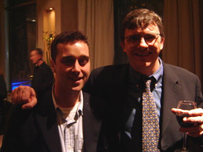 Michael Hussey and Glenn Reynolds of Instapundit
